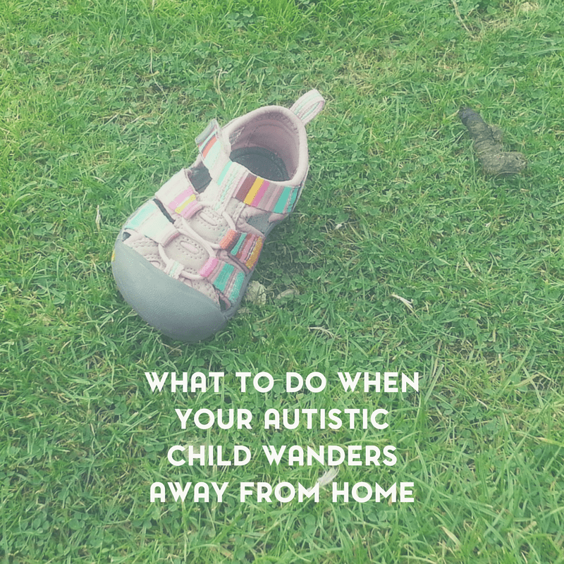 What to Do When Your Autistic Child Wanders 1