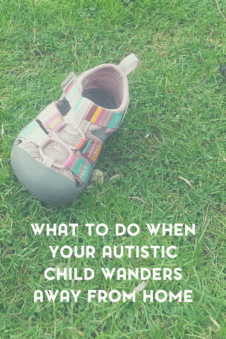 As the parent of an autistic child, one of my worst nightmares came true when my autistic daughter wandered away from home. Here's what to do when your autistic child wanders.