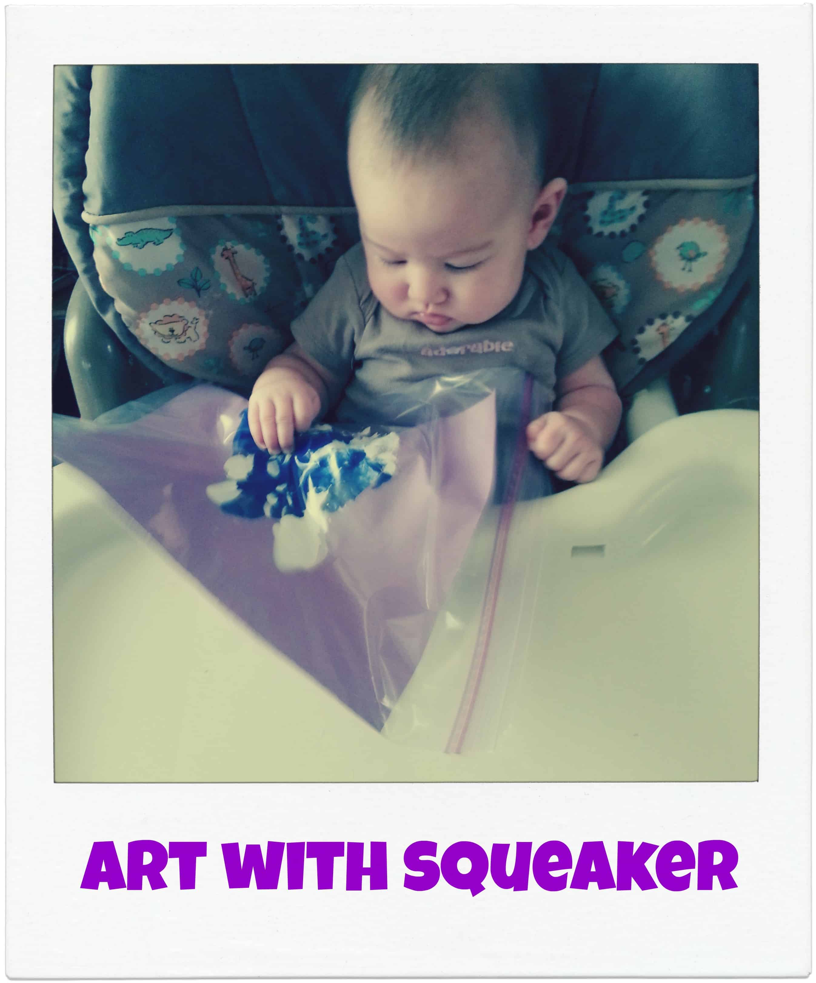 Mess Free Art for Babies
