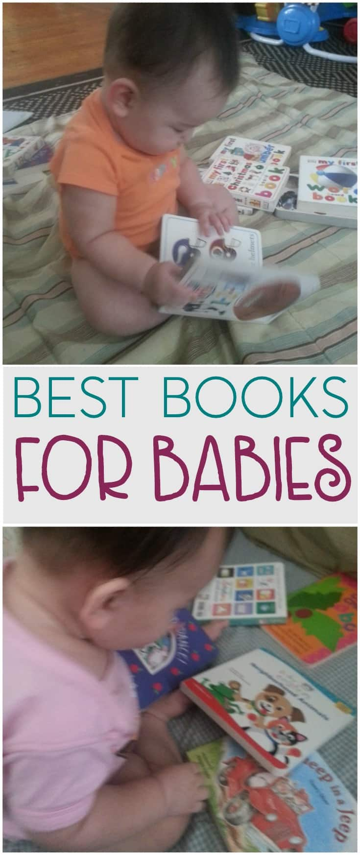 Reading with your children creates a bond that lasts a lifetime. Here are a few picks for books for babies that can also be read to and with your toddler.
