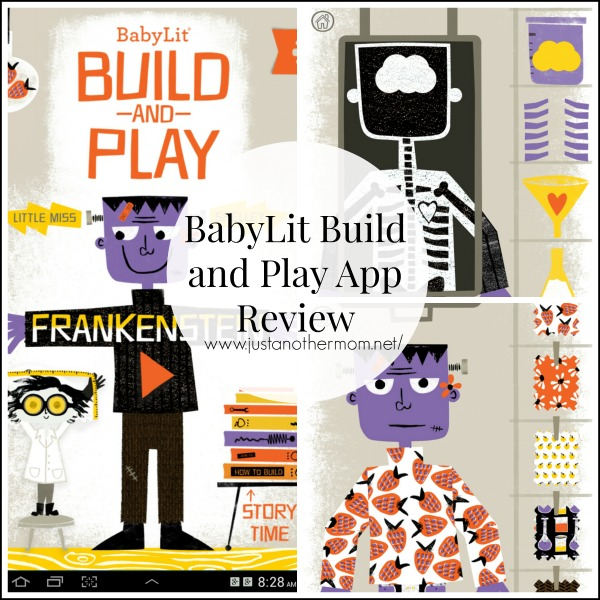 Fun with Frankenstein- Build and Play App by Baby Lit Review