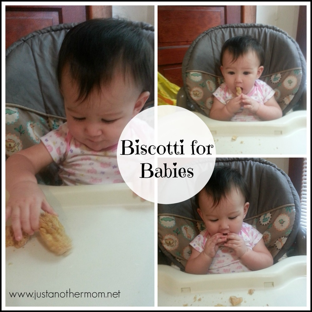 Homemade Biscotti for Babies from Just Another Mom