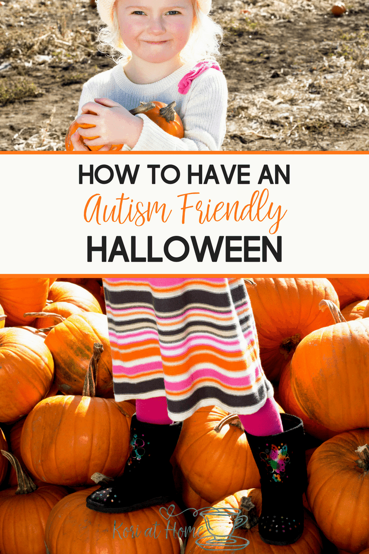 Halloween can be difficult for autistic children. Here are 7 tips for how to have an autism friendly Halloween.