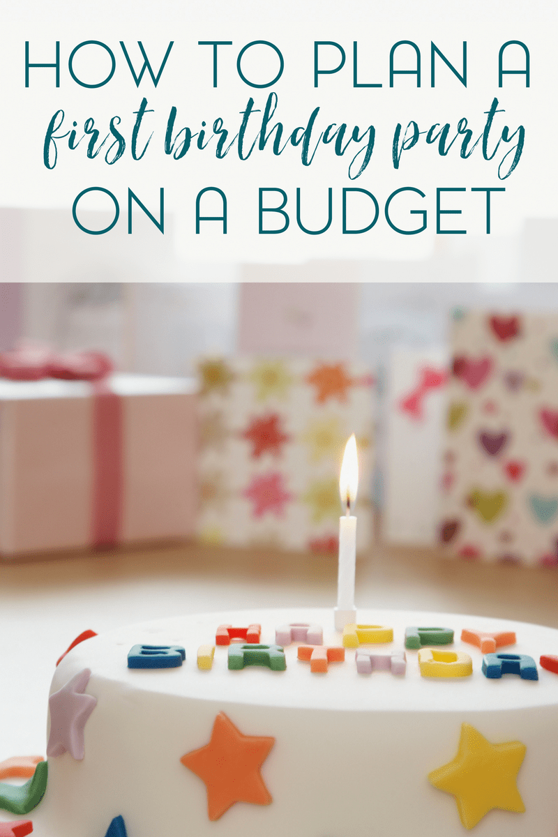 Planning a first birthday party on a budget just got easier with my free birthday party planner.