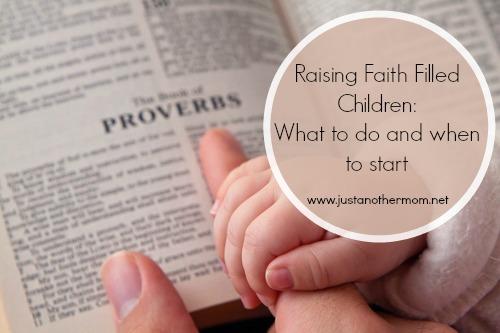 Raising Faith Filled Children