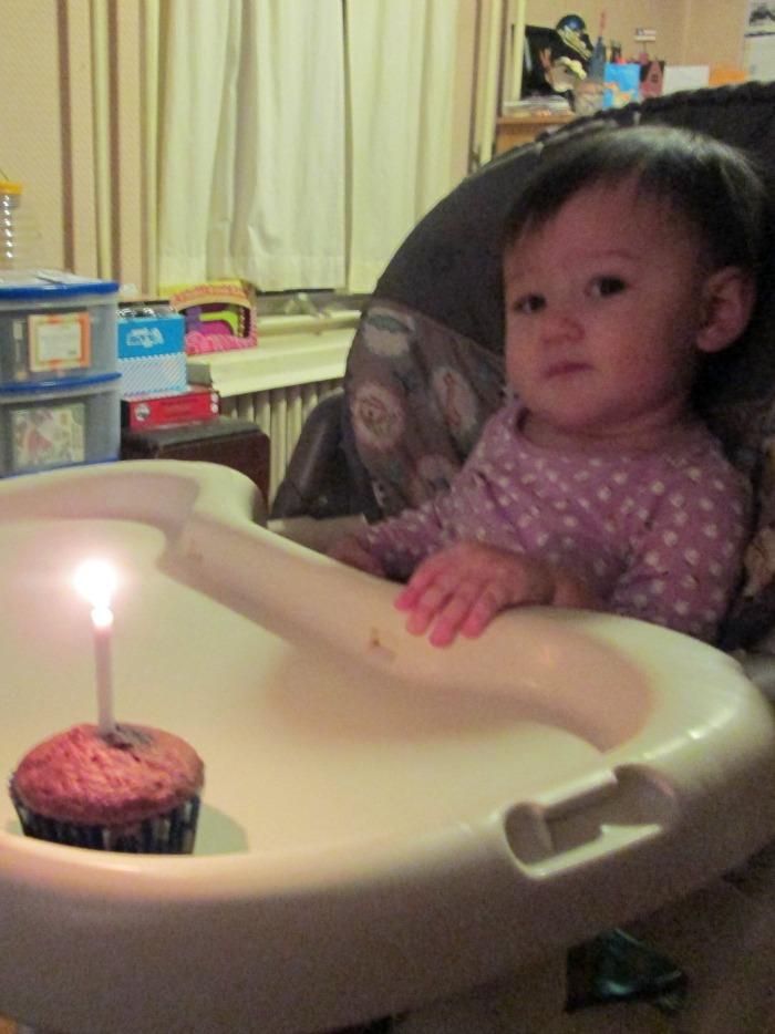 squeaker's first birthday