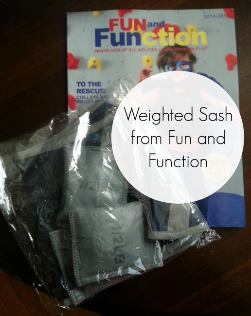 Weighted Sash from Fun and Function