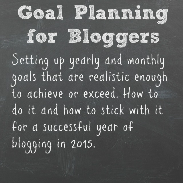 Goal Planning for Bloggers