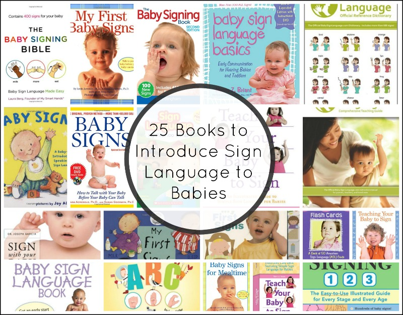 20 Books for Teaching Sign Language to Babies