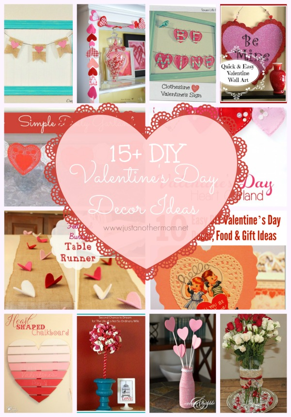 14 days of valentines day 1 kori at home Diy valentine s day decorations for home