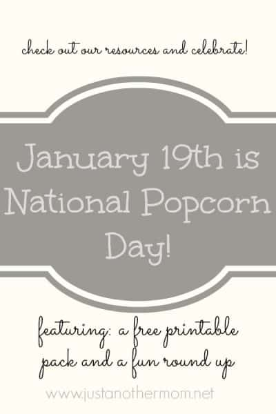 Come celebrate a fun holiday in National Popcorn Day on January 19th!