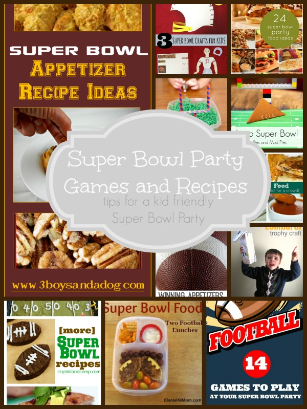 Planning and hosting a kid friendly super bowl party