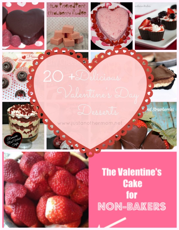 Over 20 delicious Valentine's Day Desserts