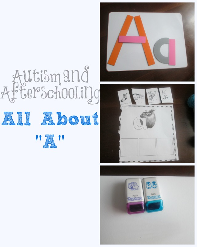 Autism and Afterschooling: the Letter A