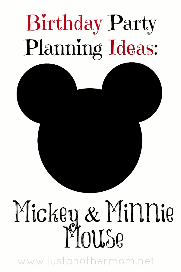 Mickey and Minnie party planning ideas