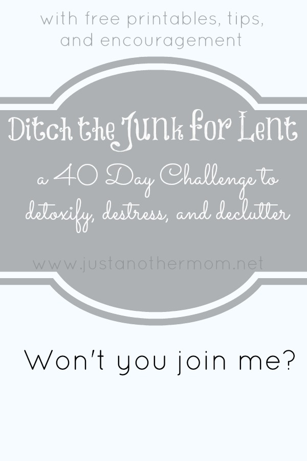 Ditch the Junk for Lent