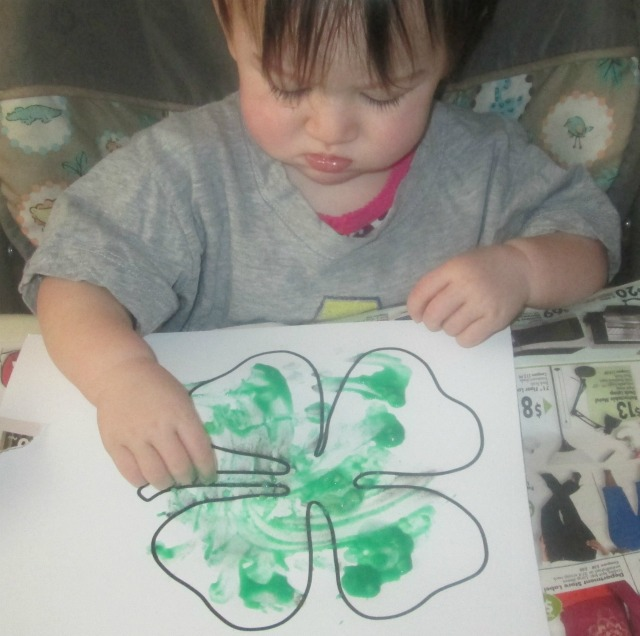 easy st. patrick's day art for toddlers 6