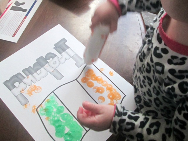 easy st. patrick's day art for toddlers 8
