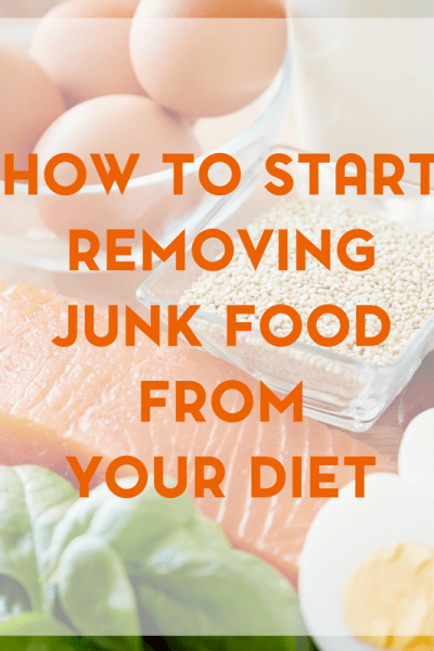 A healthier lifestyle begins with a healthier diet. Here are a few ways to start removing junk food from your diet.