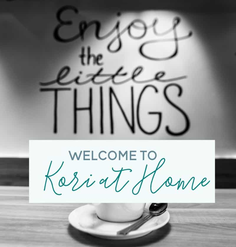 welcome to kori at home start here