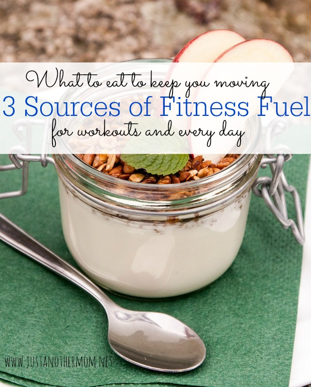 3 Sources of Fitness Fuel
