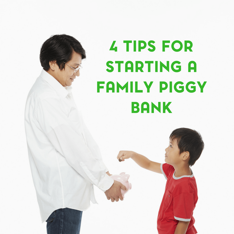 Starting a Family Piggy Bank 2
