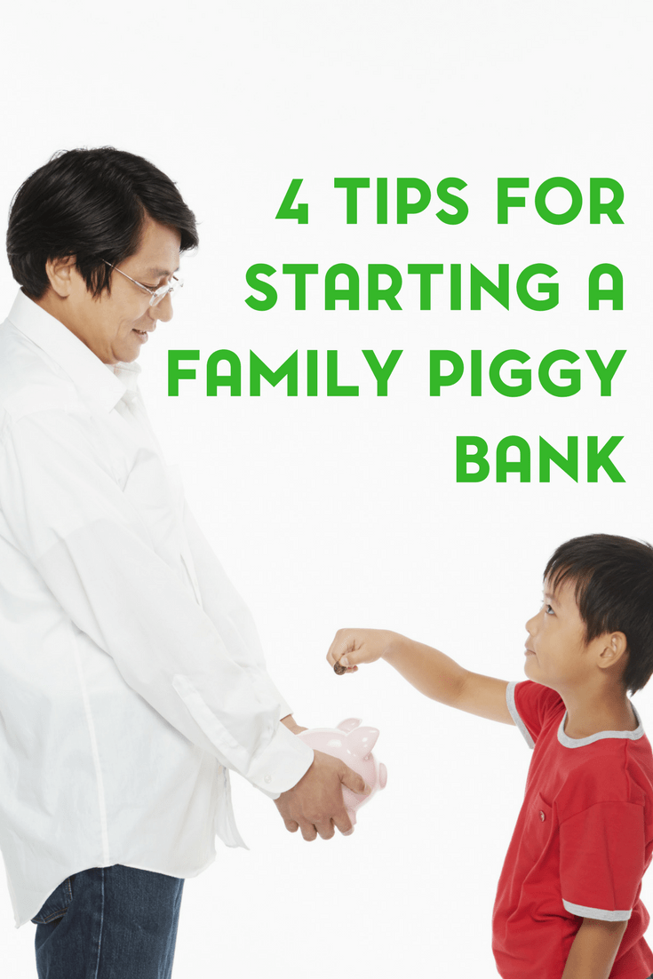 Starting a Family Piggy Bank 1