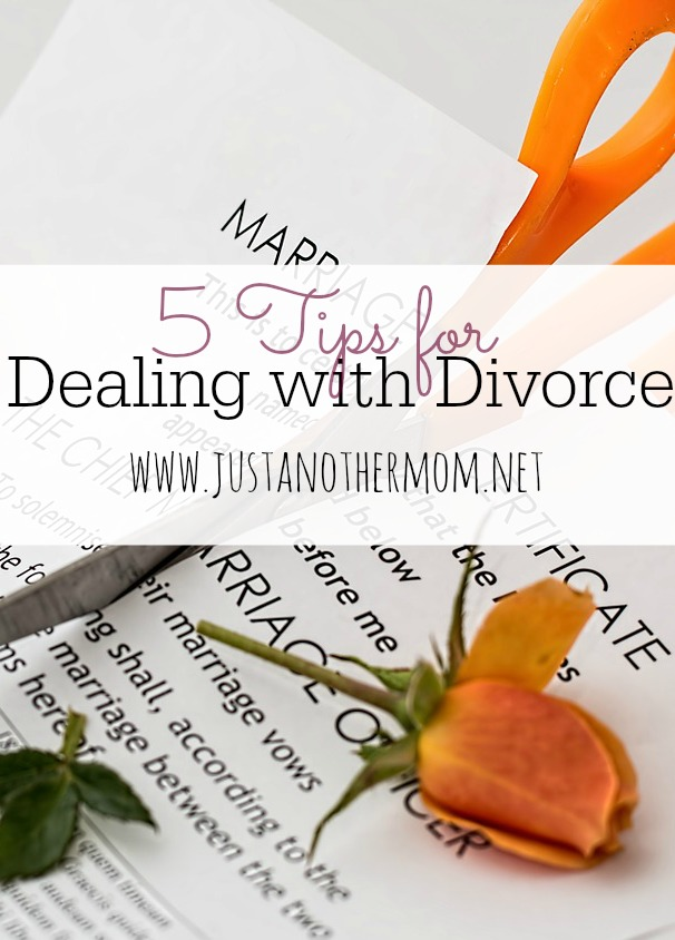 5 Tips for Dealing with Divorce
