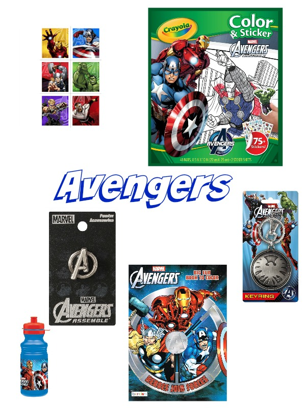 avengers theme candy free easter basket