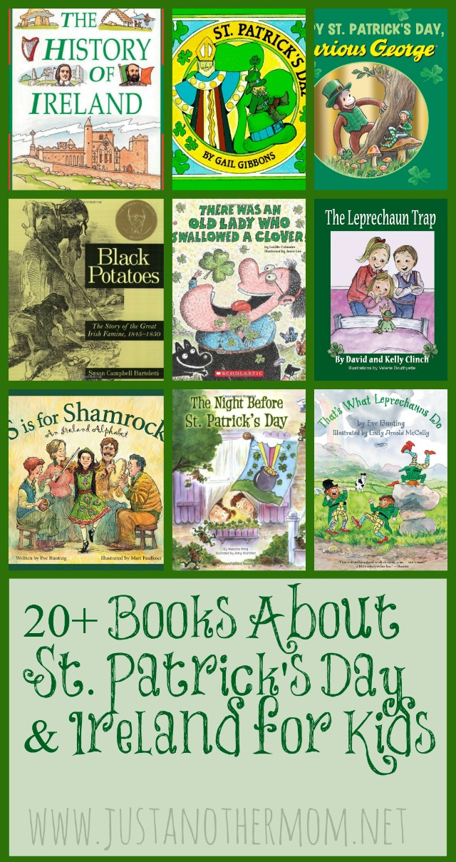 20+ Books about St. Patrick's Day for Kids