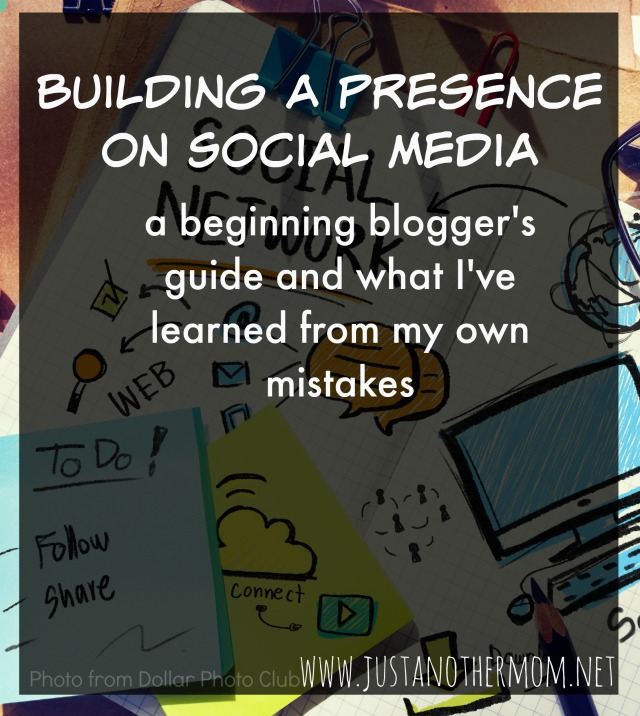 Building a presence on social media and why every blogger should do it.
