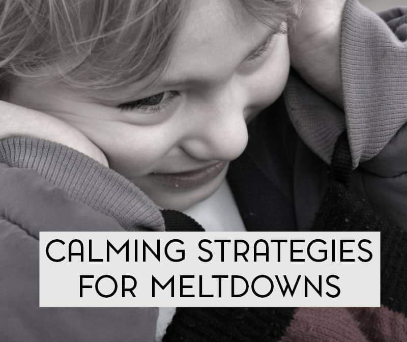 Meltdowns come with the territory of having an autistic child. But how do you know when it's a meltdown or a tantrum? We'll take a look at the differences and also share a few calming strategies that have worked for us.