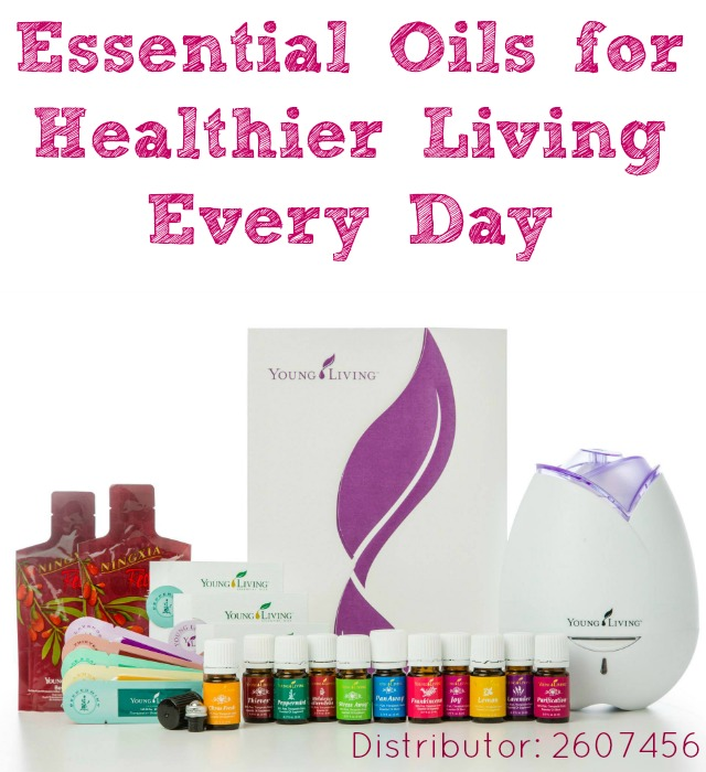 essential oils for healthier living every day
