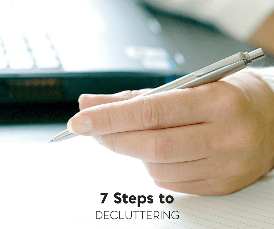 why you may not realize that decluttering is necessary