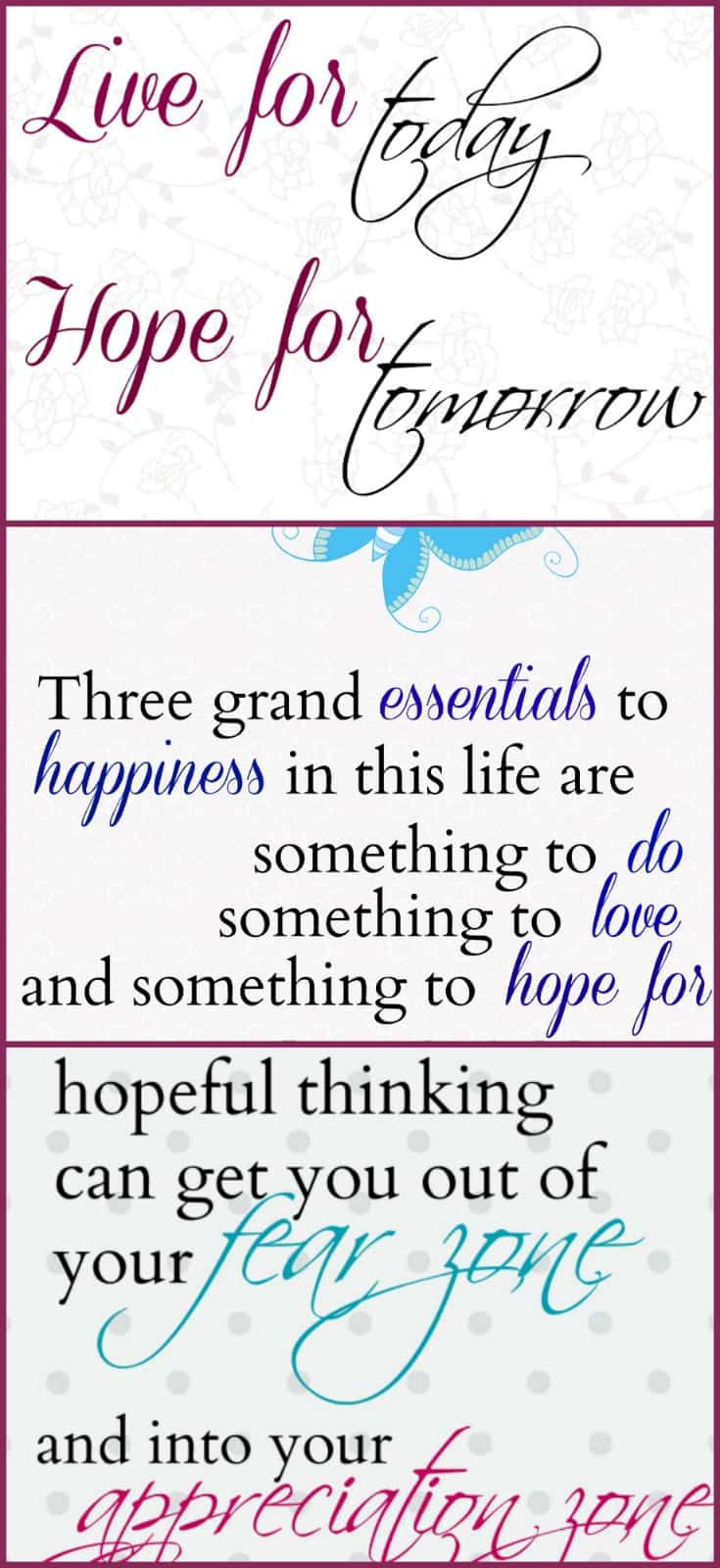 Are you in need of a gentle reminder to always have hope? Print out one of these free printable quotes.