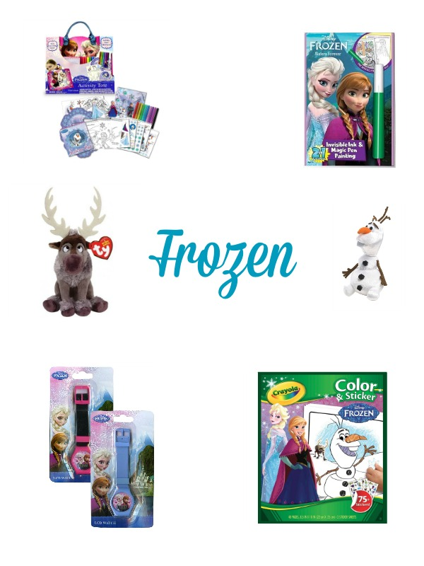 Candy Free Easter Basket Ideas: Frozen Theme