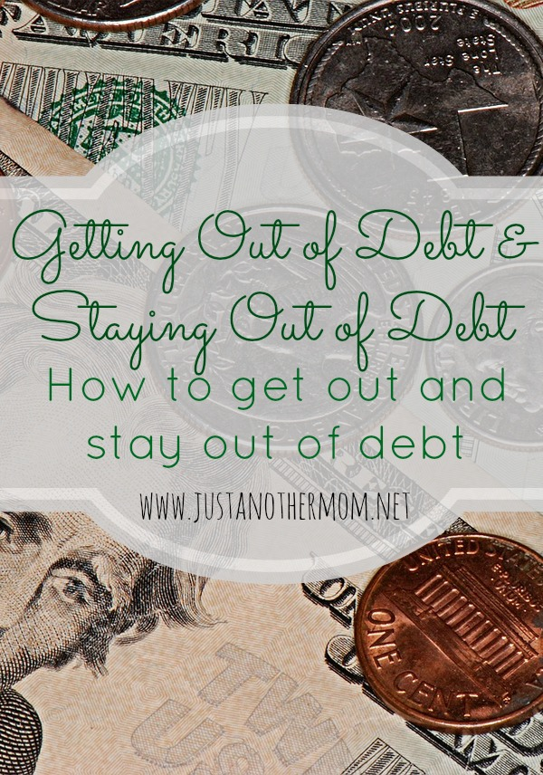 Tips on getting and staying out of debt