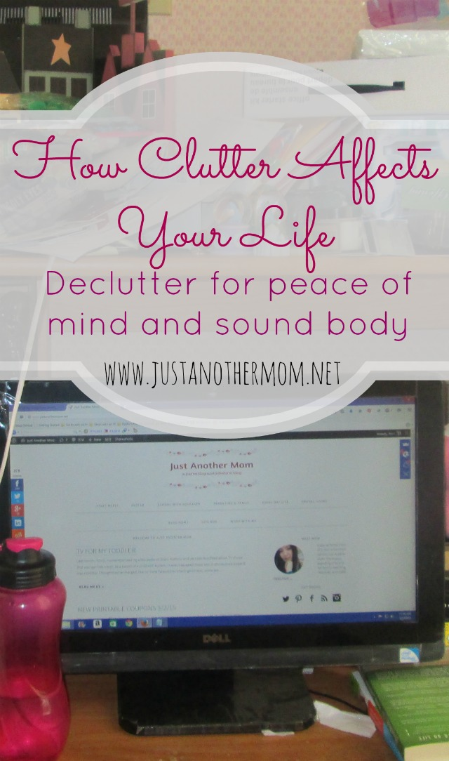 How Clutter Affects Your Life