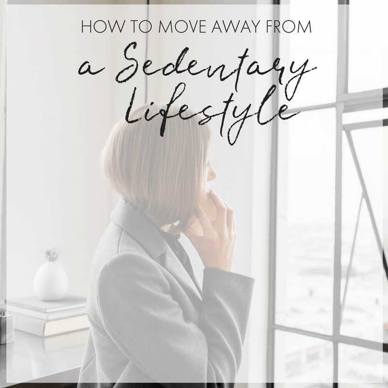 Sedentary Lifestyle: Moving Away From A Sedentary Lifestyle