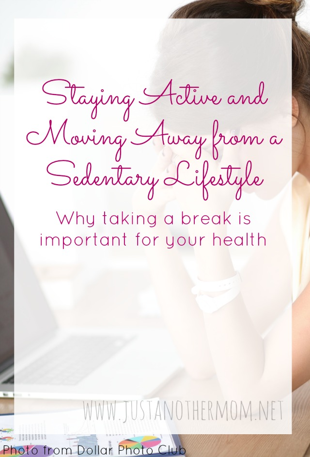 moving away from a sedentary lifestyle