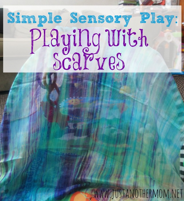 Simple Scarf Sensory Play