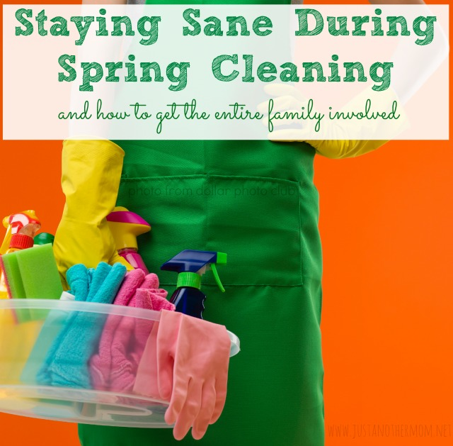 Staying Sane During Spring Cleaning