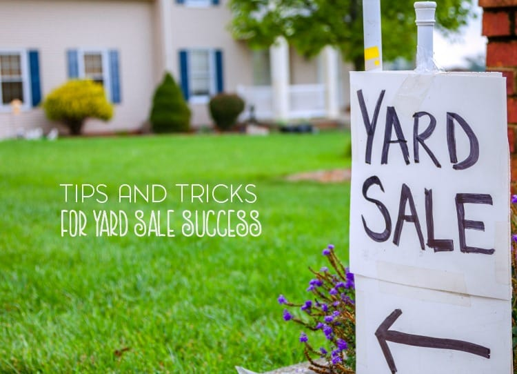 Spring cleaning often leads to garage and yard sales. Here are a few tips for having a successful yard sale at your home.