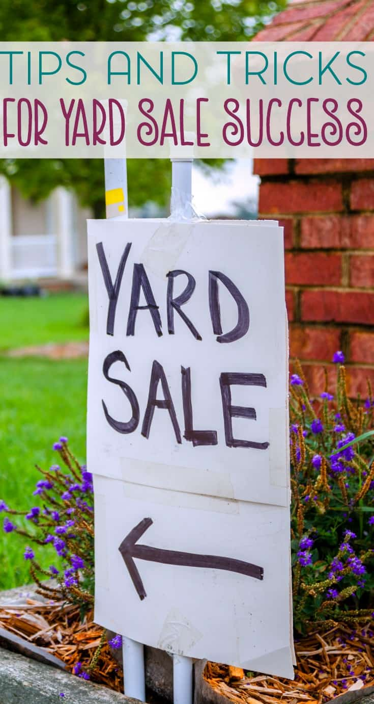 Spring cleaning often leads to garage or yard sales. Here are a few tips and tricks for yard sale success so you can make some easy and quick cash.