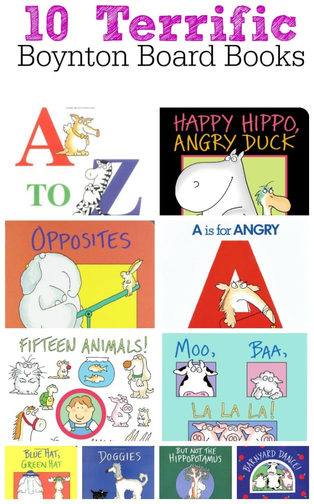 10 Terrific Sandra Boynton Board Books for Babies, Toddlers, and Preschoolers