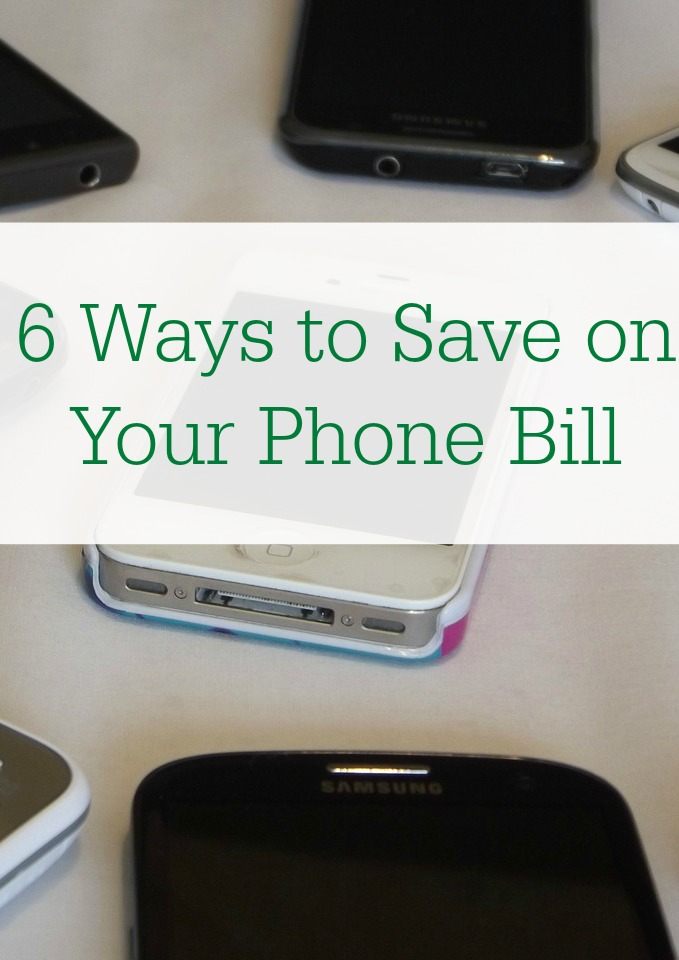 If you're looking for ways to save money, here are 6 ways to save on your cell phone bill