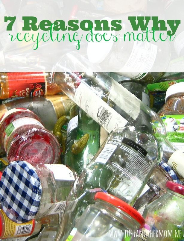 Still think that recycling doesn't make a difference? Here are 7 reasons why recycling does matter