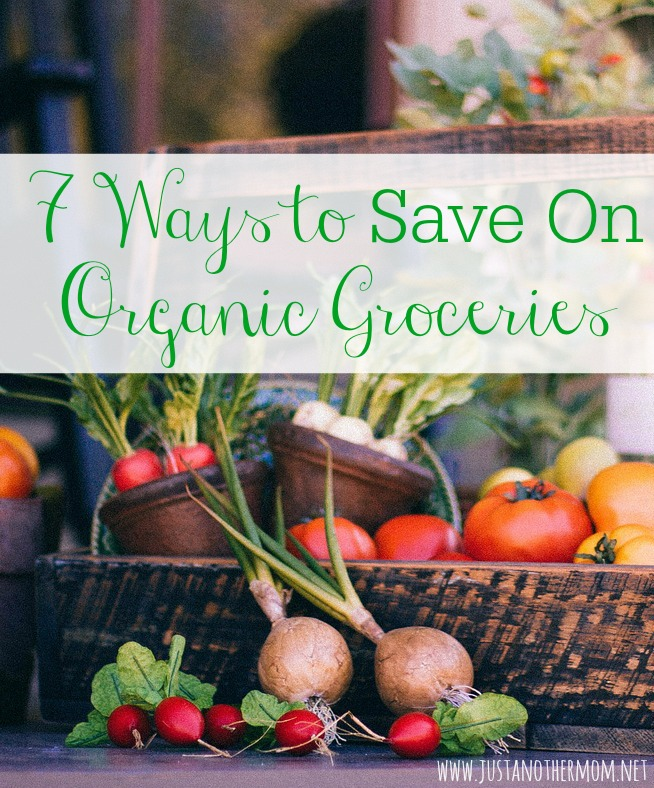 If you're looking for ways to save on organic groceries, today I'm sharing seven ways to save on organic groceries with you. Organic can be budget friendly.
