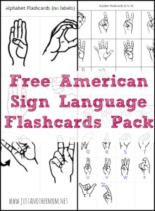 Come download this free ASL flashcards pack.