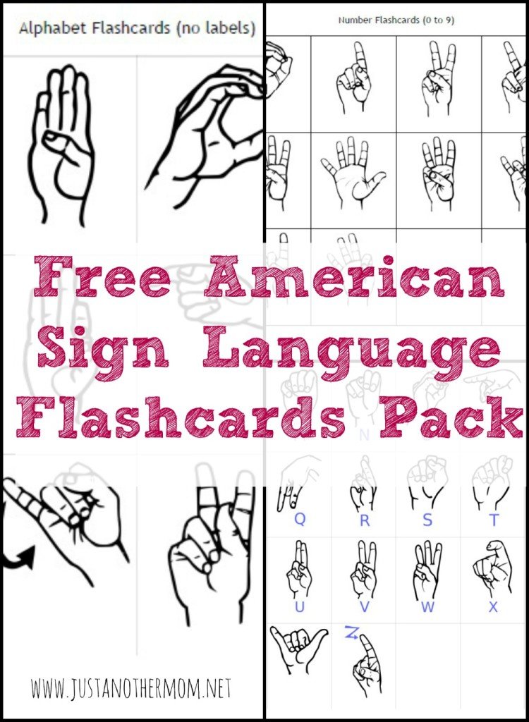 photograph relating to Asl Printable called Free of charge Indicator Language Printables and Components - Homeschool